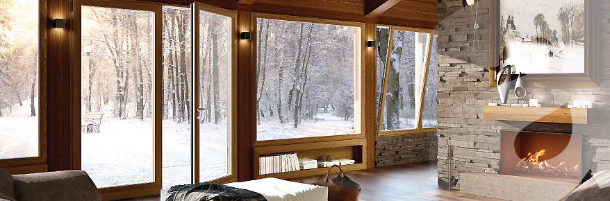 Infissi alluminio legno taglio termico produzione finestre for Infissi pvc legno
