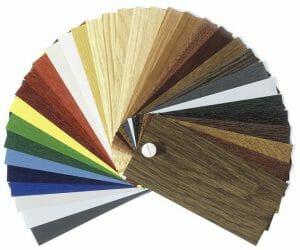 colori infissi pvc