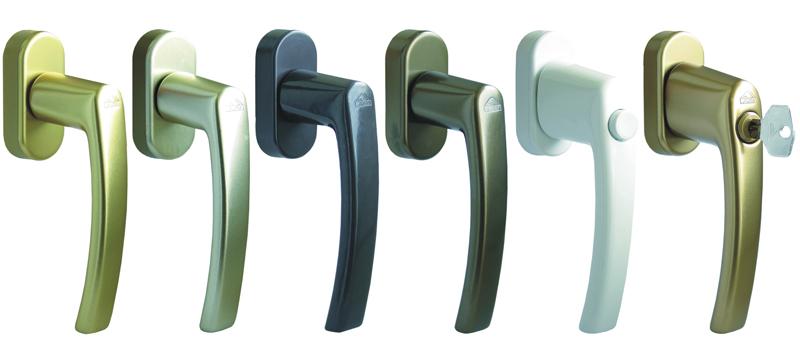maniglie finestre alluminio