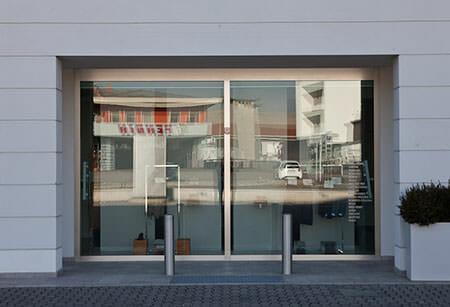 vetrine per negozi